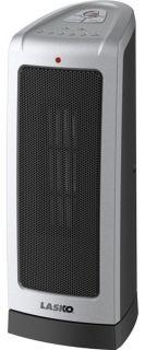 Lasko 5309 Oscillating Ceramic Tower Heater w/ Electronic Thermostat