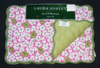 NEW Laura ASHLEY BEACH POPPY KITCHEN COLLECTION (CHOICE) Pink/Green