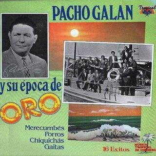 CD Pancho Galan Y Su Epoca De Oro 16 Exitos Latin big band SEALED