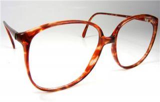 Tortoise Tura Large Plastic Womens Retro Vintage Eyeglass Frame