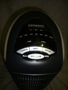 Lasko 751320 Ceramic Tower Heater Light Use