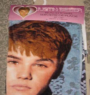 New 2011 Snake Pattern Licensed Justin Bieber Large 30x60 Towel Bath