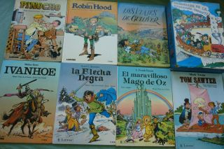 Spanish Books Collection Maravillas de La Literatura Infantil Children