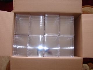 Clear Plastic Display Boxes Case Showcase 48 Large