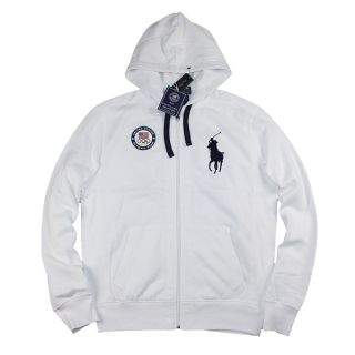 Ralph Lauren 2012 London Official USA Olympic Team Track Jacket Hoody