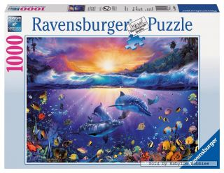 jigsaw puzzle: Christian Riese Lassen   Twilight in Paradise (190409