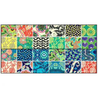 Westminster Amy Butler Lark Fat Quarter Set Quilt Fabric Cobalt Blue