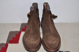 Polo Ralph Lauren Crockett Jones Suede Leather Ankle Boots 9 D