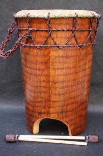 Mexican Huehuetl Drum Latin American Art Aztec Musical Percussion