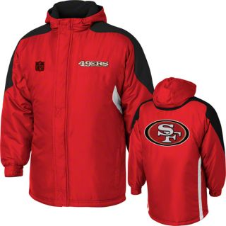 San Francisco 49ers Kids 4 7 Red NFL Field Goal Midweight Zip Front