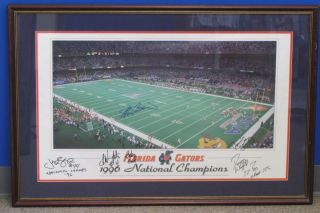 University of Florida Sweet Second Chance Framed Art with Coach and