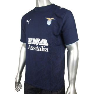 Mens Puma Lazio Replica Football Soccer Shirt Top T Shirt Gym Training