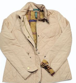Polo Ralph Lauren Womens Quilted Jacket New Brown