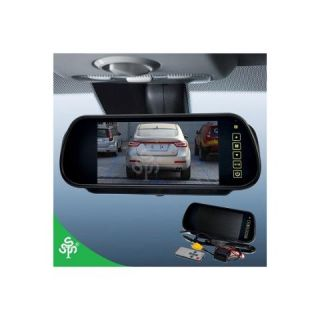 Lychee EPC CMO 303 7 inch 16 9 TFT LCD Widescreen Car Rearview Monitor