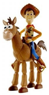 Mattel R7215 Toy Story 3 Woody Bullseye Roundup Pack