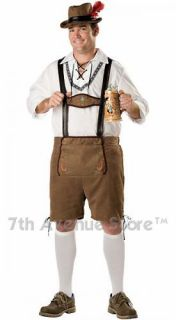 German Beer Man Lederhosen Costume Men Hansel Beerfest
