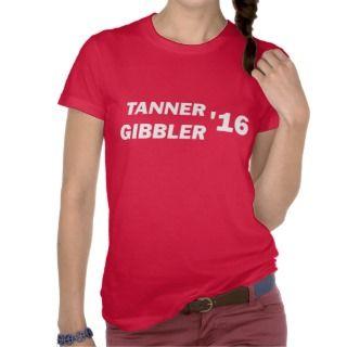 Tanner Gibbler 2016 Top Shirts