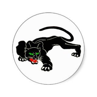 Black Panther   Large CAT Sticker