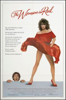 The Woman in Red 1984 Original U s One Sheet Movie Poster
