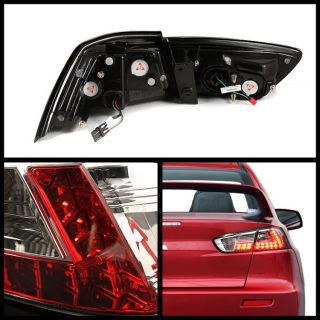 Sonar 08 10 Mitsubishi Lancer EVO x LED Tail Lights