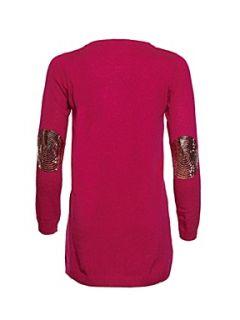 Yumi Girls Girl`s sequin cat dress, Pink   House of Fraser