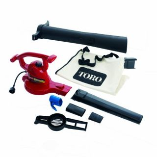 Ultra Toro 235 MPH Leaf Blower Shredder Vac Electric Powered Yard