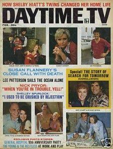Daytime TV Soap Opera Magazine Shelby Hiatt 1974