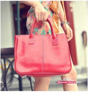 Womens PU Faux Leather Handbag Purses Shoulder Totes Bag Satchel 12