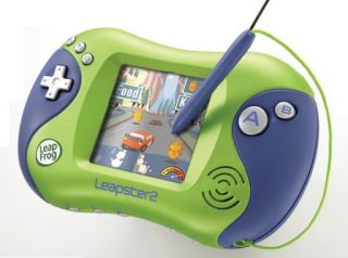 LeapFrog Leapster 2 Green Boys Girl #1 Learning Game System Tablet