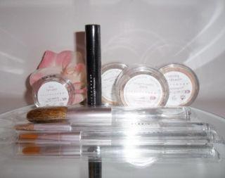 8pc Sheer Cover Mineral Makeup Set Kit Light / Medium Latte Buff