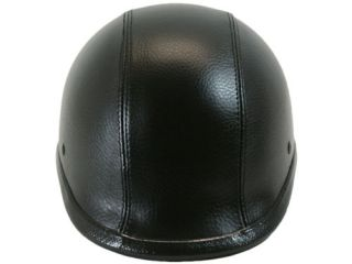 Leather Polo Motorcycle Half Helmet Goggle Novelty L