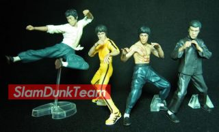 LEE Bandai 3D Kung Fu Hero Masters of Legend Gashapon Figures Set of 4