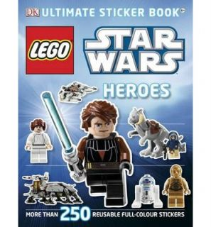 Lego Star Wars Heroes Ultimate Sticker Book 9781405364409