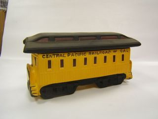 McCormick Central Pacific Railroad Passenger Car 1970
