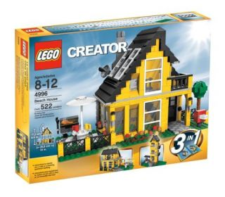 Lego Creator 4996 3 in 1 Beach House 522 Pieces New SEALED