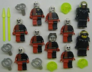 10 Lego Aliens Minifig Lot Figures Space Martians Ufos Underwater Ogel