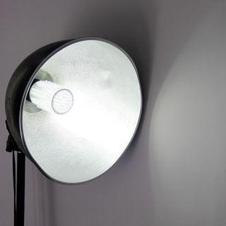 166 LED E27 360 Corn Light Bulb Lamp Cold White 7W 220V