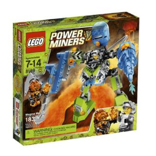 New Lego Power Miners Magma Mech 8189 673419129992