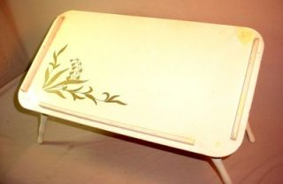 Vintage Artex Green Butlerette Snack Table Folding Butler Tray