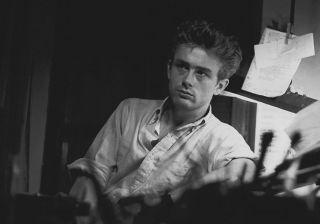 James DEAN New York 1954   Ancienne Epreuve Originale de PHOTOGRAVURE