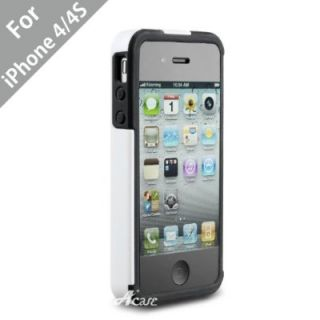 Acase Superleggera Pro Dual Layer Protective Case for iPhone 4S 4