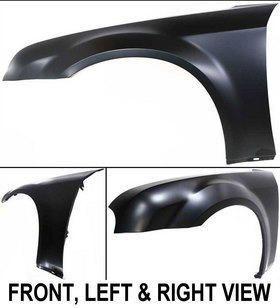 Primered New Fender Left Hand Front LH Driver Side 5183423AB Chrysler