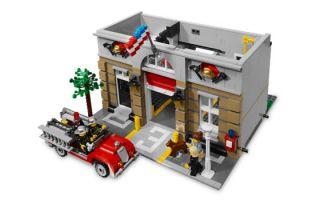 LEGO 2 MODULAR Set 10197 Fire Brigade + 10211 GRAND EMPORIUM @@ BRAND