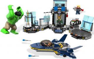 Lego Marvel Super Heros 6868 Hulks Helicarrier Breakout