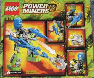 New Factory SEALED Lego Power Miners Magma Mech 8189