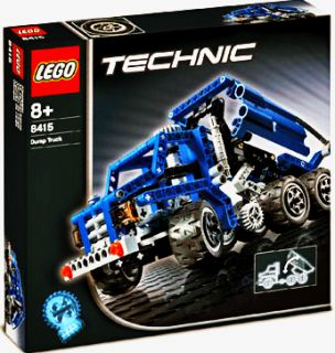 This LEGO Technic 8415 Dump Truck/Street Sweeper is a product in the
