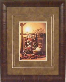Grandmas Quilt by Doug Knutson Framed Art Quilting Print Picture