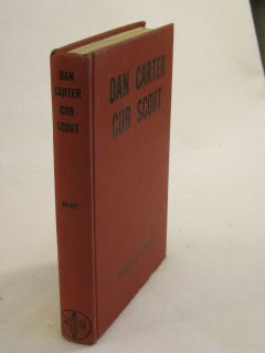 Mildred Wirt Dan Carter Cub Scout Cupples and Leon C 1949 HC DJ