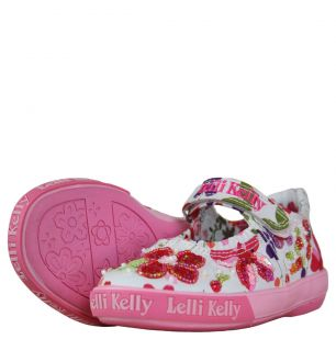 Lelli Kelly LK5154 Girls Peonia Dolly Stretch Pumps SS12 Fantasia