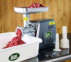 Lem 575 Watt Electric Meat Grinder 1113